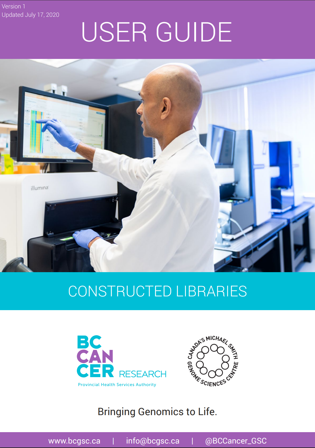 Constructed libraries